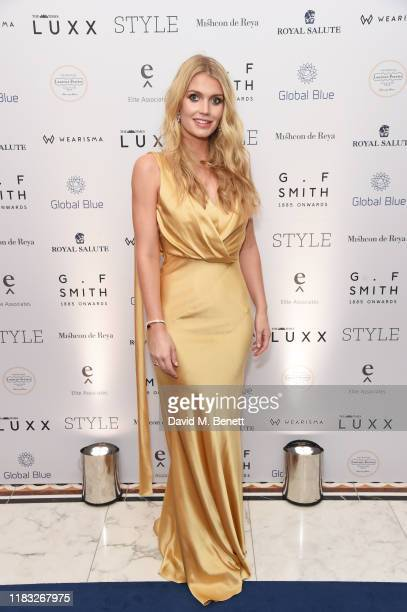 Lady Kitty Spencer attends the Walpole British Luxury Awards 2019 at The Dorchester on November 18 2019 in London England