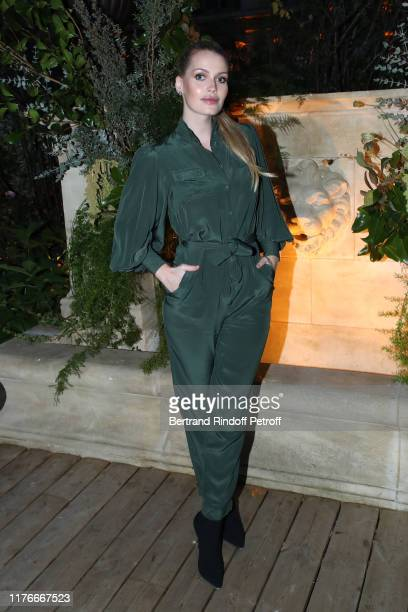 Lady Kitty Spencer attends the Zimmermann Cocktail As part as Paris Fashion Week Womenswear Spring Summer 2020 Held at Apicius on September 23 2019...
