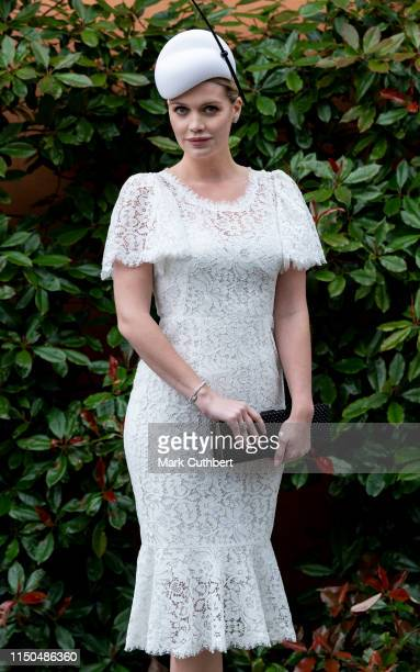 Lady Kitty Spencer on day one of Royal Ascot at Ascot Racecourse on June 18 2019 in Ascot England