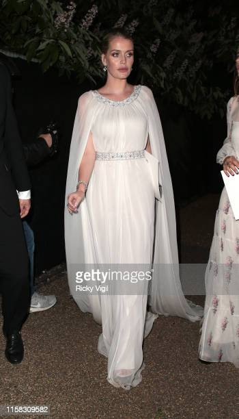 Lady Kitty Spencer seen attending The Serpentine Gallery Summer Party on June 25, 2019 in London, England.