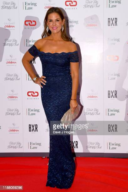 Lady Lara Asprey during the Float Like A Butterfly Ball for Caudwell Children VIP drinks reception at The Grosvenor House Hotel on November 16 2019...