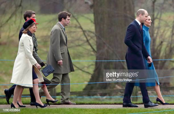 Lady Laura Meade Emilia JardinePaterson David JardinePaterson James Meade Prince William Duke of Cambridge and Catherine Duchess of Cambridge attend...