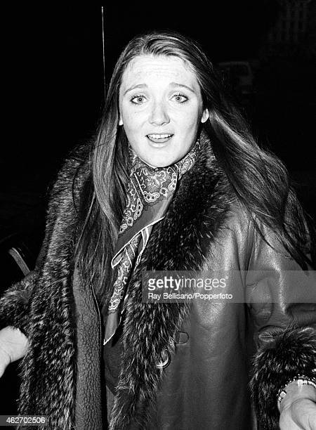 Lady Leonora Grosvenor outside her home in Eaton Square London on 19th December 1969 This image is one of a series taken by Ray Bellisario who was...