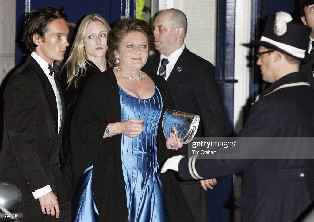 Lady Leonora Lichfield & Lord Lichfield at Ritz Party : News Photo