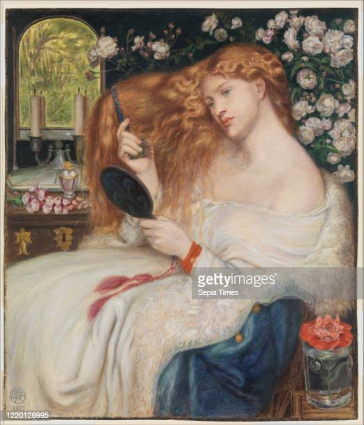 Lady Lilith. 1867. Watercolor and gouache on paper. 20 3/16 X 17 5/16 in. . Drawings. Dante Gabriel Rossetti . Henry Treffry Dunn . Fascinated by...