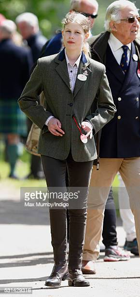 Lady Louise Windsor attends day 4 of the Royal Windsor Horse Show in Home Park on May 14, 2016 in Windsor, England.