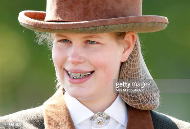 Lady Louise Windsor takes part in 'The Champagne Laurent-Perrier Meet of the British Driving Society' on day 5 of the Royal Windsor Horse Show in...