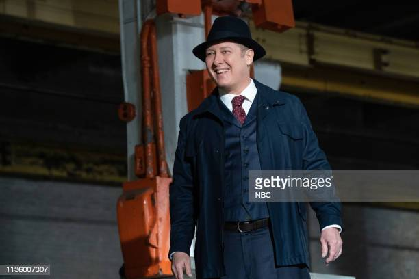 THE BLACKLIST Lady Luck Episode 616 Pictured James Spader as Raymond Red Reddington