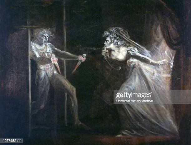 Lady Macbeth Seizing the Daggers' exhibited 1812 by Henry Fuseli Discovered in the collection of the Tate London