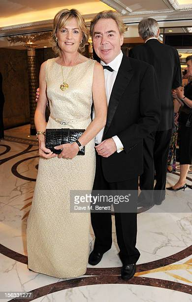 Lady Madeleine Lloyd Webber and Lord Andrew Lloyd Webber attend the Cartier Racing Awards 2012 at The Dorchester on November 13 2012 in London England