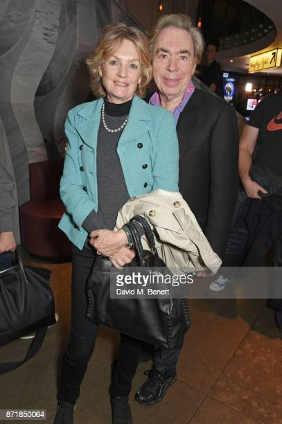 Lady Madeleine Lloyd Webber and Lord Andrew Lloyd Webber attend the press night after party for Big Fish The Musical at The Other Palace on November...