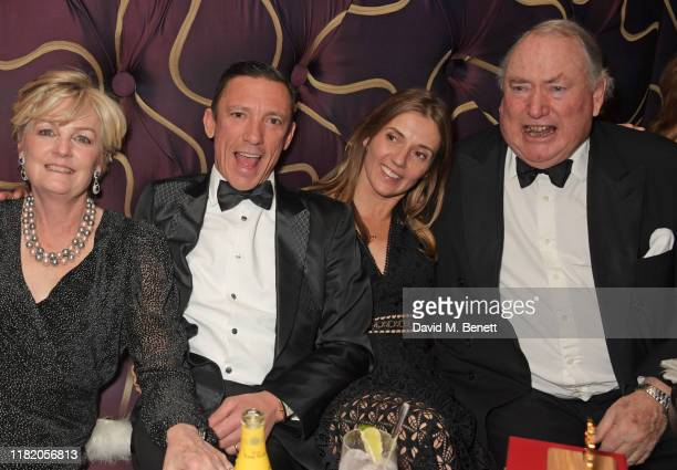Lady Madeleine Lloyd Webber Frankie Dettori Catherine Dettori and Anthony Oppenheimer attend The 29th Cartier Racing Awards at The Dorchester on...