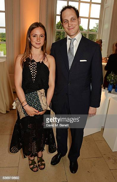 Lady Marina Windsor and Lord Frederick Windsor attend the launch of British fashion brand Sienna Jones' debut collection 'The Marina Range' at The...