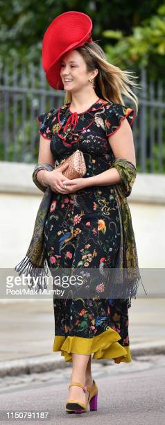 Lady Marina Windsor attends the wedding of Lady Gabriella Windsor and Thomas Kingston at St George's Chapel on May 18, 2019 in Windsor, England.