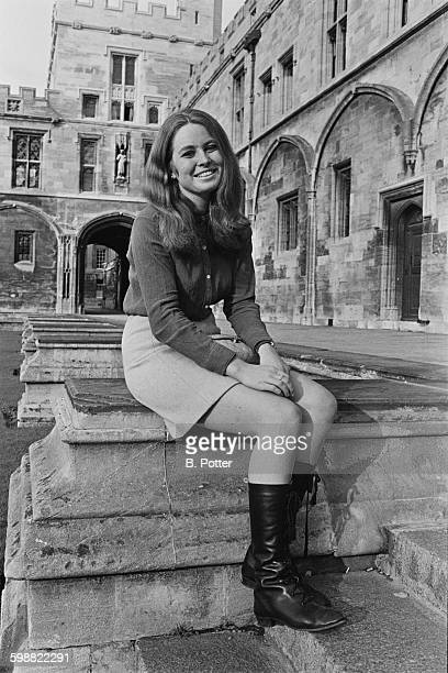 Lady Mary Annunziata Asquith daughter of Julian Asquith the 2nd Earl of Oxford and Asquith UK 22nd October 1967