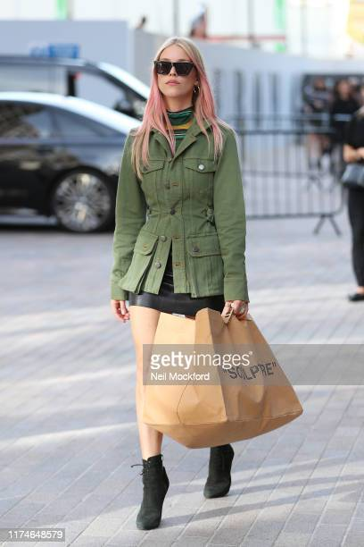 Lady Mary Charteris attends House of Holland at Gasholder Park during LFW September 2019 on September 14 2019 in London England