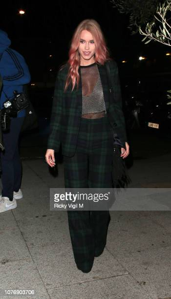 Lady Mary Charteris seen attending Haig Club House Party at Laylow Members' Lounge on December 03 2018 in London England