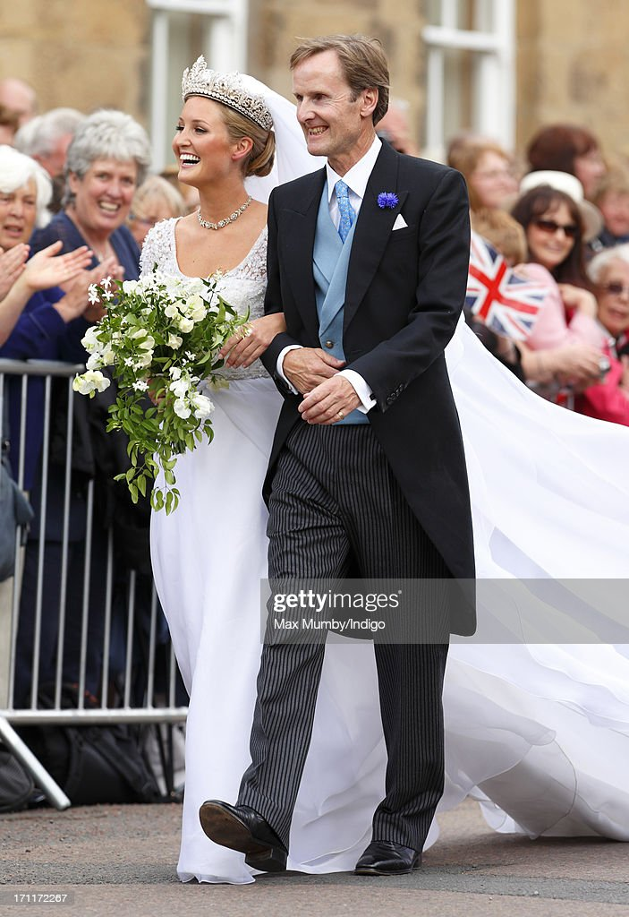 Lady Melissa Percy Ed By Her Father Ralph Duke Of Northumberland Arrive At St