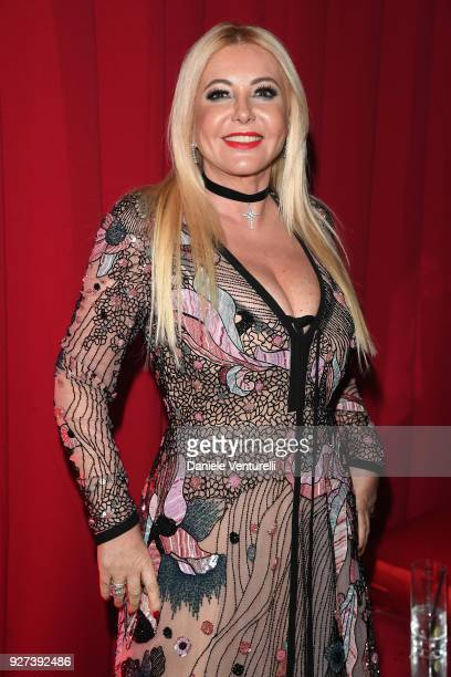 Lady Monica Bacardi attends Elton John AIDS Foundation 26th Annual Academy Awards Viewing Party at The City of West Hollywood Park on March 4 2018 in...