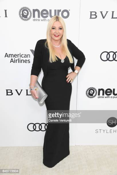 Lady Monika Bacardi attends Bulgari at the 25th Annual Elton John AIDS Foundation's Academy Awards Viewing Party at on February 26 2017 in Los...