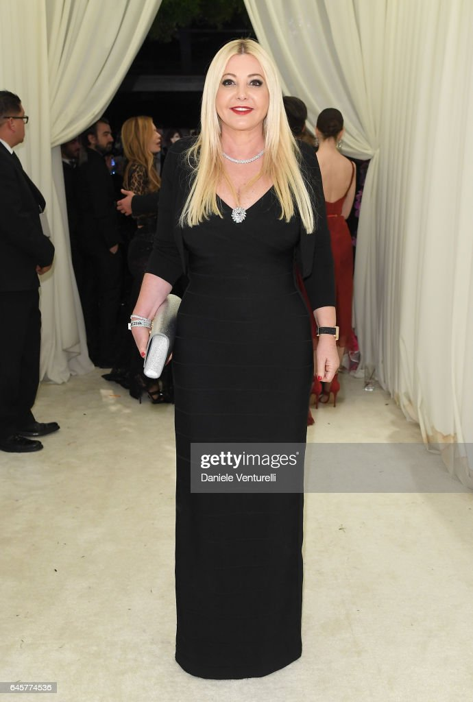 Lady Monika Bacardi attends Bulgari at the 25th Annual Elton John AIDS Foundation's Academy Awards Viewing Party at on February 26, 2017 in Los Angeles, California.