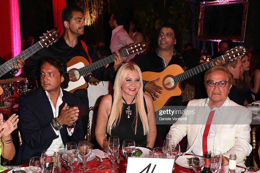 Lady Monika Bacardi Of AMBI Pictures attends Monika Bacardi Summer Party 2014 St Tropez at Les Moulins de Ramatuelle on July 27, 2014 in Saint-Tropez, France.