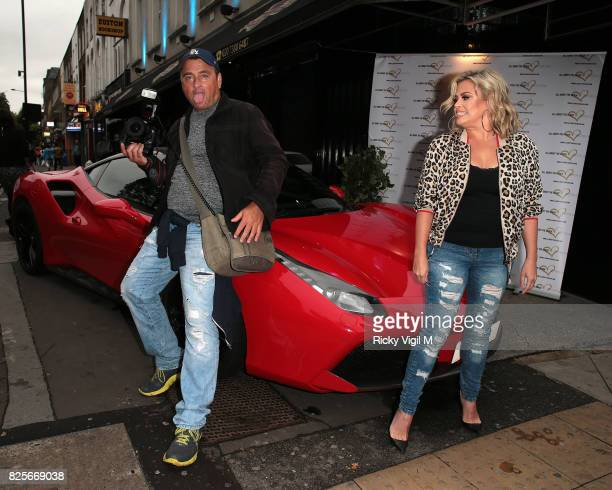 Lady Nadia Essex attends Ester Dee All About the Beach launch party at The Directors Party Lounge on August 2 2017 in London England