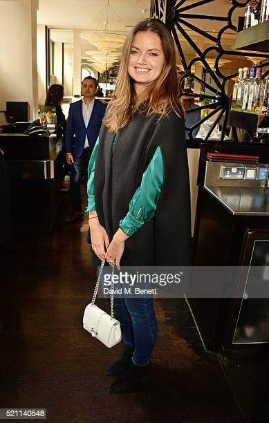 Lady Natasha Rufus Isaacs attends the Women Entrepreneurs Lunch hosted by Rosie Fortescue at Eight Over Eight on April 14 2016 in London England