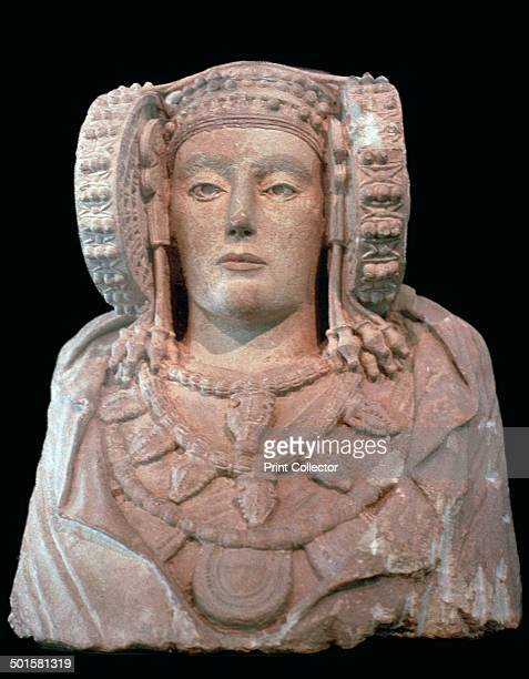 Lady of Elche from La Alcuidia de Elche Alicante Spain From Madrid National Museum's collection 4th century