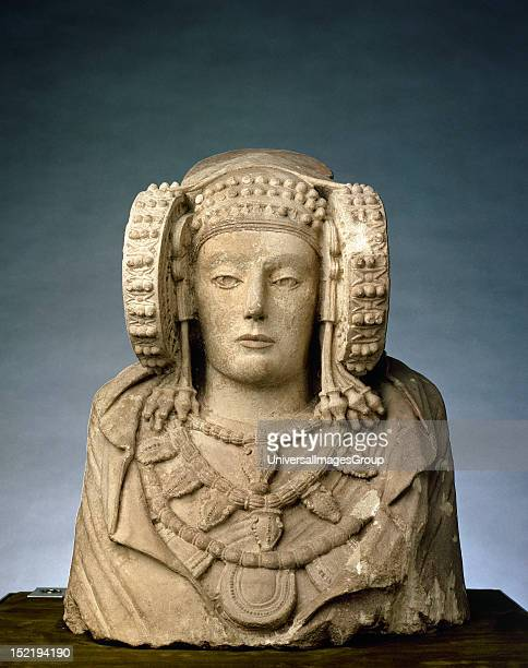 Lady of Elche Iberian sculpture 4th century BC National Archaeological Museum Madrid Spain