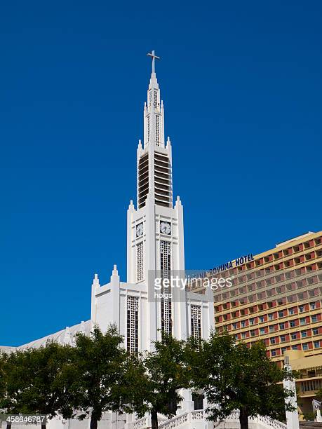 lady of the immaculate conception, maputo mozambique - maputo city stock pictures, royalty-free photos & images