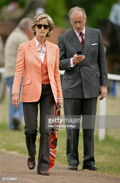 Lady Penny Brabourne and Norton Knatchbull Lord Brabourne during day three of the Royal Windsor Horse Show 2009 on May 14 2009 in Windsor England