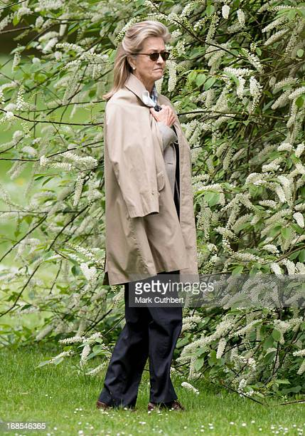 Lady Penny Brabourne at The Royal Windsor Horse Show on May 11 2013 in Windsor EnglandÊ