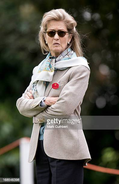 Lady Penny Brabourne at The Royal Windsor Horse Show on May 11 2013 in Windsor England