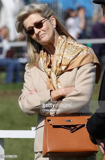 Lady Penny Brabourne attends day five of the Royal Windsor Horse Show at Home Park on May 13 2012 in Windsor England