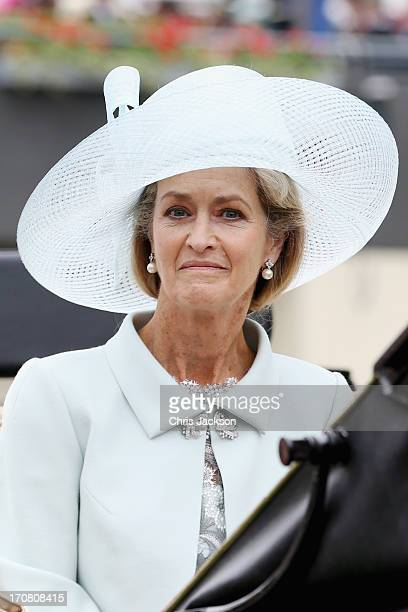 Lady Penny Brabourne attends day one of Royal Ascot at Ascot Racecourse on June 18 2013 in Ascot England