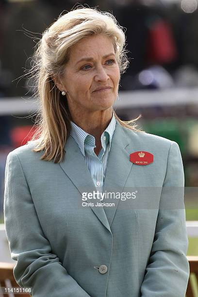 Lady Penny Brabourne attends Windsor Horse Show on May 12 2011 in Windsor England