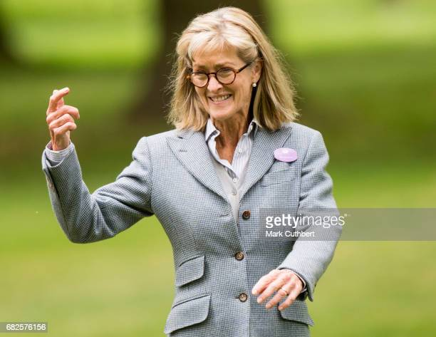Lady Penny Brabourne during the Windsor Horse Show on May 13 2017 in Windsor England