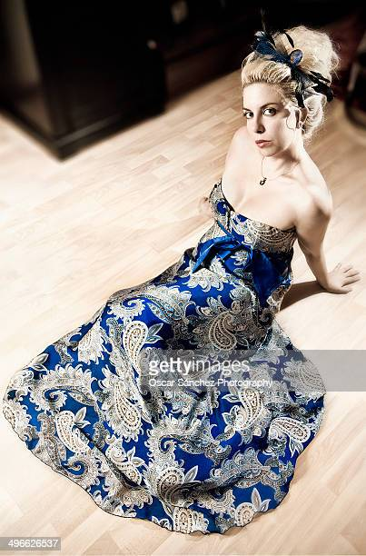 lady - strapless evening gown stock pictures, royalty-free photos & images