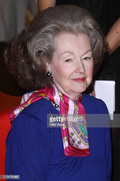 Lady Raine Spencer attend the launch ceremony for an instore promotion of Malaysian craft at Harrods on February 26 2009 in London England