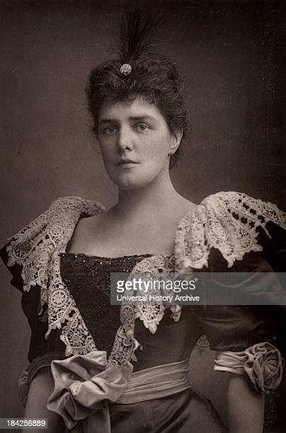 Lady Randolph Churchill American society beauty and mother of Winston Churchill who be came British Prime Minister From The Cabinet Portrait Gallery...