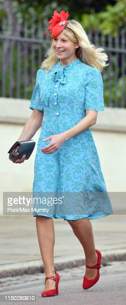 Lady Rose Gilman attends the wedding of Lady Gabriella Windsor and Thomas Kingston at St George's Chapel on May 18 2019 in Windsor England