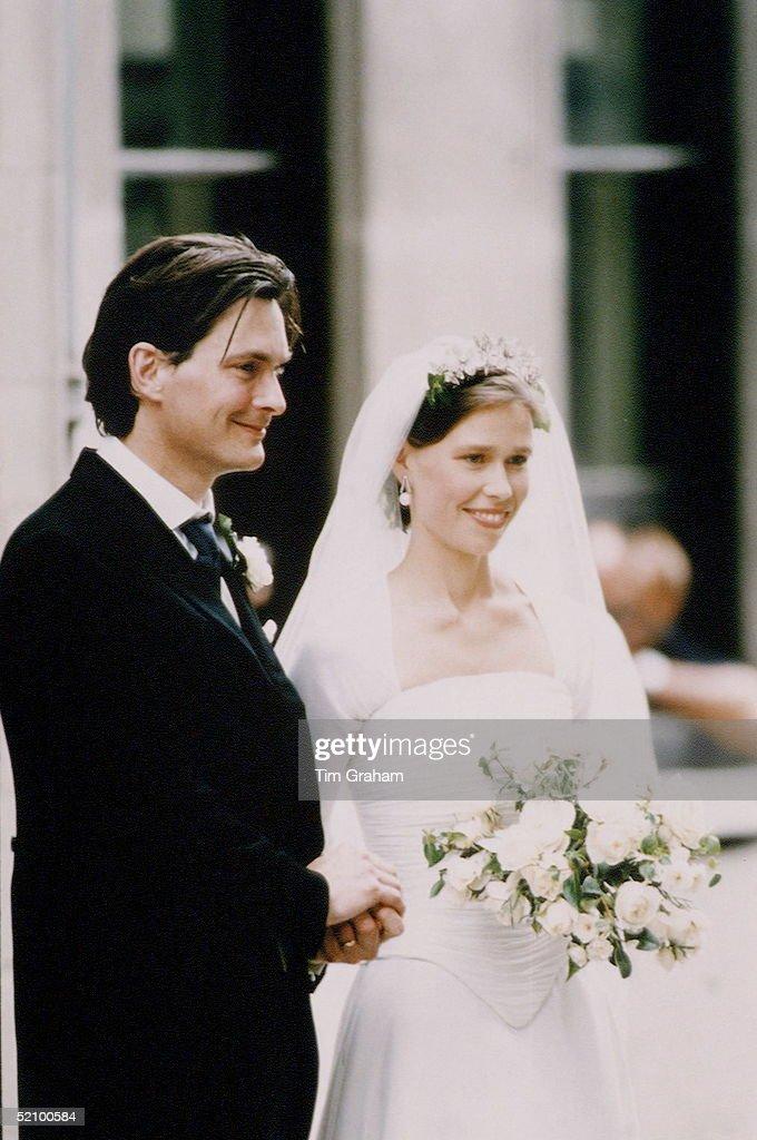 Daniel Sarah Chatto Wedding : News Photo