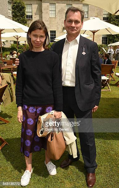 Lady Sarah Chatto and Daniel Chatto attend The Cartier Style et Luxe at the Goodwood Festival of Speed at Goodwood on June 26 2016 in Chichester...