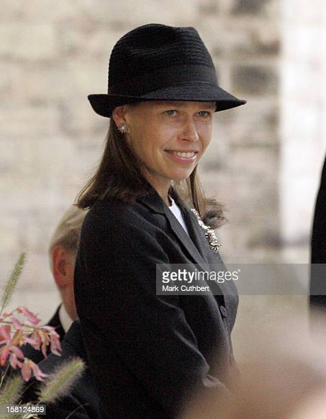 Lady Sarah Chatto Attends A Memorial Service For Major Bruce Shand At St Paul'S Church In London'S Knightsbridge