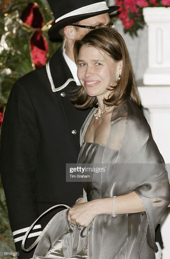 Lady Sarah Chatto at Ritz Party : News Photo