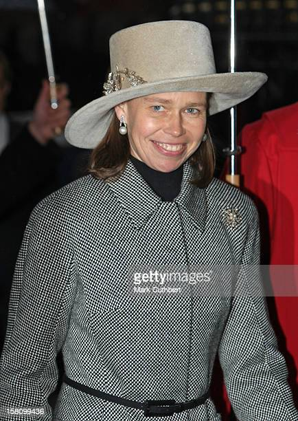 Lady Sarah Chatto Attends A Service Celebrating Queen Elizabeth Ii And Prince Philip, The Duke Of Edinburgh'S 60Th Diamond Wedding Anniversary At...