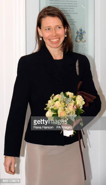 Lady Sarah Chatto Vice President of the the Royal Ballet School after opening the new White Lodge Museum and Ballet Resource Centre in Richmond Park...