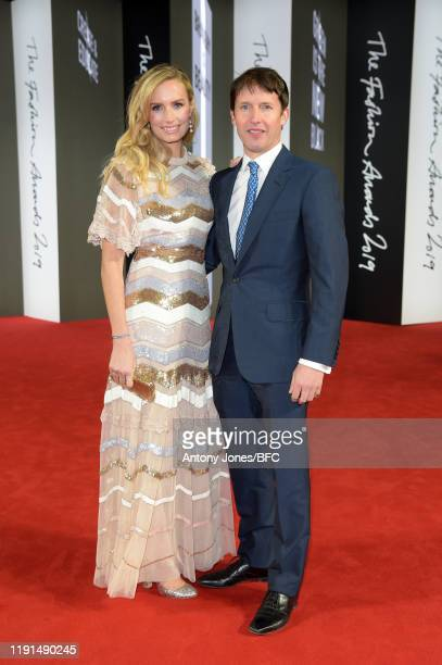 Lady Sofia Wellesley and James Blunt attend The Fashion Awards 2019 after party held at Royal Albert Hall on December 02, 2019 in London, England.