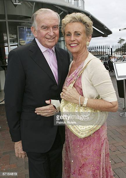Lady Sonia McMahon and John Barker attends the launch of iTrainercomau at the Cruise Bar on March 22 2006 in Sydney Australia